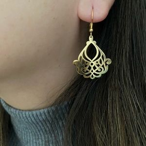 Mandala Boho Look Earrings